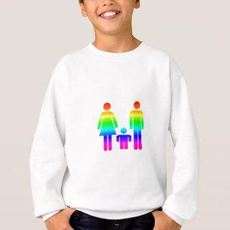 Regenbogen-Familie Sweatshirt