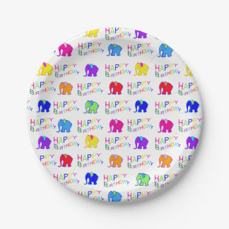 Geburtstags des kindes mit elefanten geschenke for Kindergeburtstag pappteller