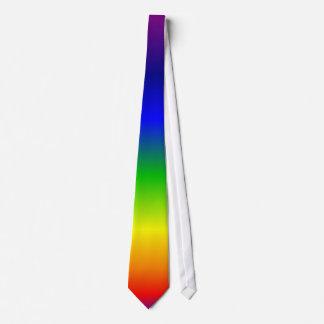 Regenbogen färbt Rot herauf Krawatte