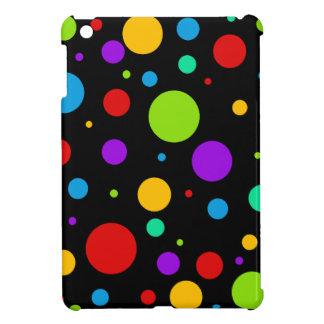 Regenbogen-FarbTupfen iPad Mini Cover