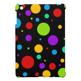 Regenbogen-FarbTupfen iPad Mini Etui