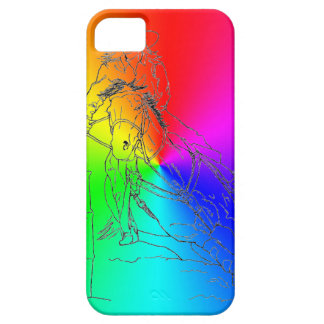 Regenbogen-Fass-Rennläufer II - iPhone 5/5S Fall Etui Fürs iPhone 5