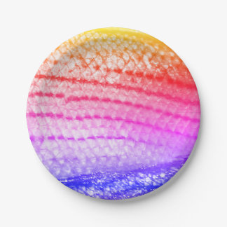 Regenbogen-Fisch-Skalen 4Janine Pappteller