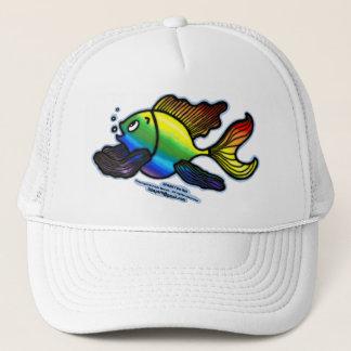 Regenbogen-Fische Truckerkappe