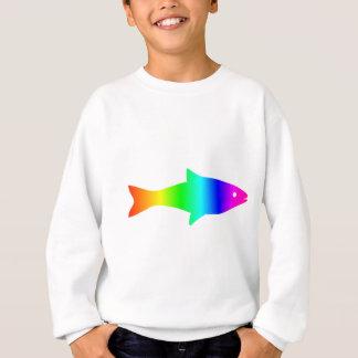Regenbogen Fish2 Sweatshirt