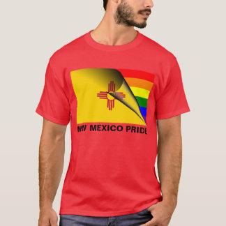 Regenbogen-Flagge des New Mexiko-Stolz-LGBT T-Shirt