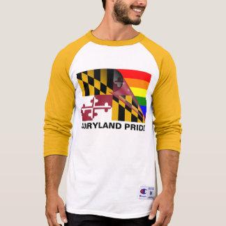 Regenbogen-Flagge Maryland-Stolz-LGBT T-Shirt
