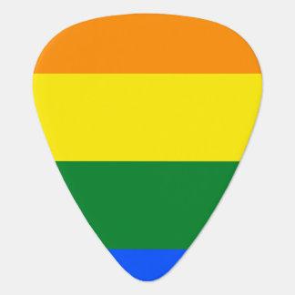 Regenbogen-Flagge Plektrum