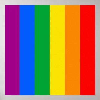 Regenbogen-Flagge Plakatdrucke