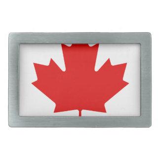 Regenbogen-Flagge von Kanada Rechteckige Gürtelschnalle