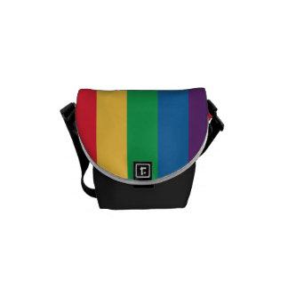 Regenbogen-Flaggen-Stolz-Bote-Tasche Kuriertasche