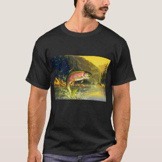 Regenbogen-Fluss-Forelle, die für diese Wanze T-Shirt