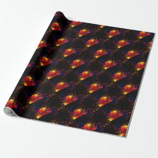 Regenbogen-Fraktal #2 Geschenkpapier