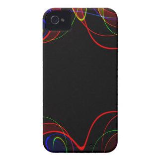 Regenbogen-Fraktal #2 iPhone 4 Cover