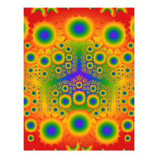 Regenbogen-Fraktal-Explosionen: Individuelle Flyer