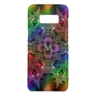 Regenbogen-Fraktal Jewels Tapisserie-Monogramm Case-Mate Samsung Galaxy S8 Hülle