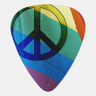 Regenbogen-FriedensPlektrum Plektron