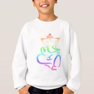 Regenbogen Ganesha Sweatshirt