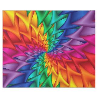 Regenbogen-gewundenes Dornen-Packpapier Geschenkpapier