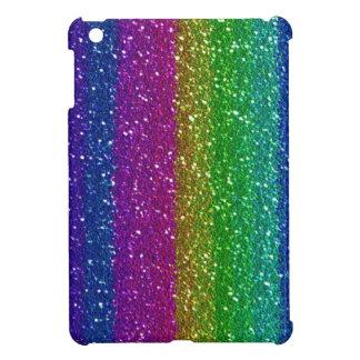 Regenbogen Glittter iPad Miniabdeckung Schutzhülle Fürs iPad Mini