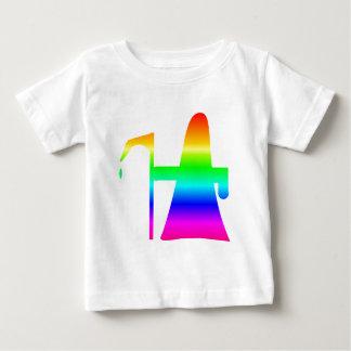 Regenbogen-grimmiger Sensenmann #2 Baby T-shirt
