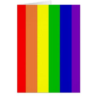 Regenbogen-Gruß-Karte Karte