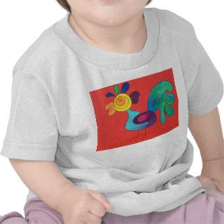 Regenbogen-Hahn Hemd