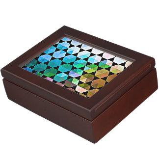 Regenbogen-Hexe-Grafikdesign Erinnerungsdose