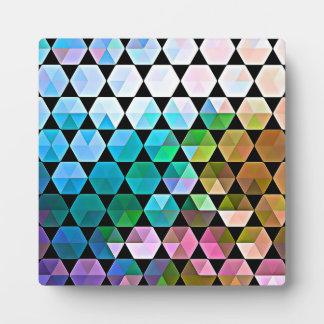 Regenbogen-Hexe-Grafikdesign Fotoplatte