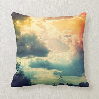 Regenbogen-Himmel-Kissen Kissen