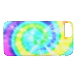 Regenbogen-Hippy gefärbte Krawatte iPhone 8 Fall iPhone 8/7 Hülle