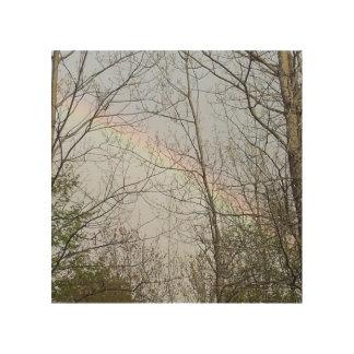 Regenbogen Holzdruck