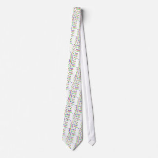 Regenbogen-Holzhammer Krawatte