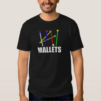 Regenbogen-Holzhammer T Shirts