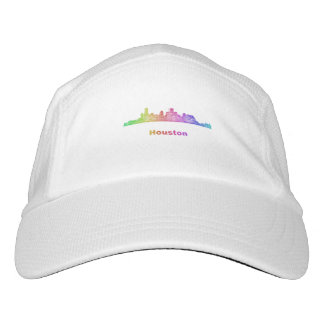 Regenbogen-Houston-Skyline Headsweats Kappe