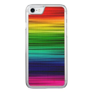 Regenbogen iPhone 6/6s nehmen Ahorn-Holz ab Carved iPhone 8/7 Hülle