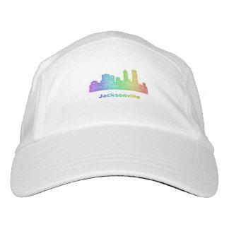 Regenbogen-Jacksonville-Skyline Headsweats Kappe