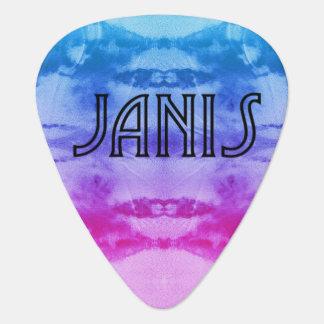Regenbogen Janis Plektrum