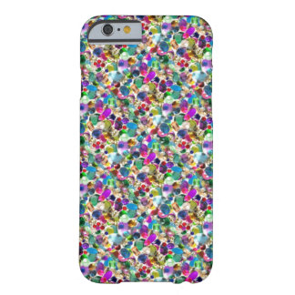 Regenbogen-JuwelRhinestone grafisches Bling iPhone Barely There iPhone 6 Hülle