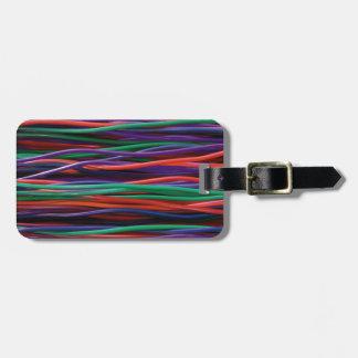 Regenbogen-Kabel - cool Kofferanhänger