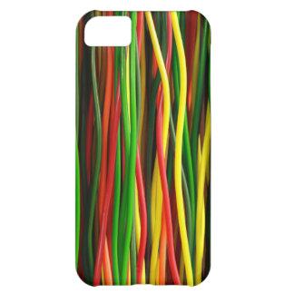 Regenbogen-Kabel - wärmen Sie sich iPhone 5C Hülle