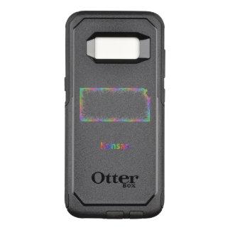 Regenbogen-Kansas-Karte OtterBox Commuter Samsung Galaxy S8 Hülle