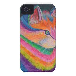 Regenbogen-Katze iPhone 4 Case-Mate Hülle