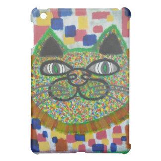 Regenbogen-Katze mit die Mähnen-Kunst des Löwes iPad Mini Hüllen