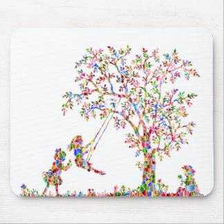 Regenbogen-Kinder Mauspad