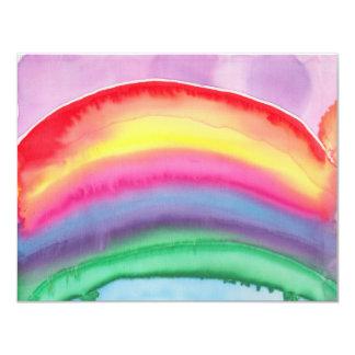 Regenbogen (klein) individuelle einladungen