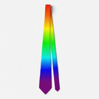 Regenbogen-Krawatte Individuelle Krawatte