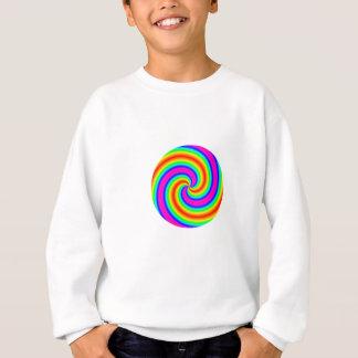 Regenbogen-Kreis Sweatshirt