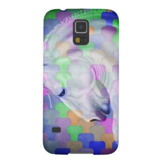 Regenbogen-Kubismus-pferdeartige Kunst Samsung S5 Hülle