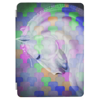 Regenbogen-KubismusAndalusian Lusitan Pferdekunst iPad Air Hülle